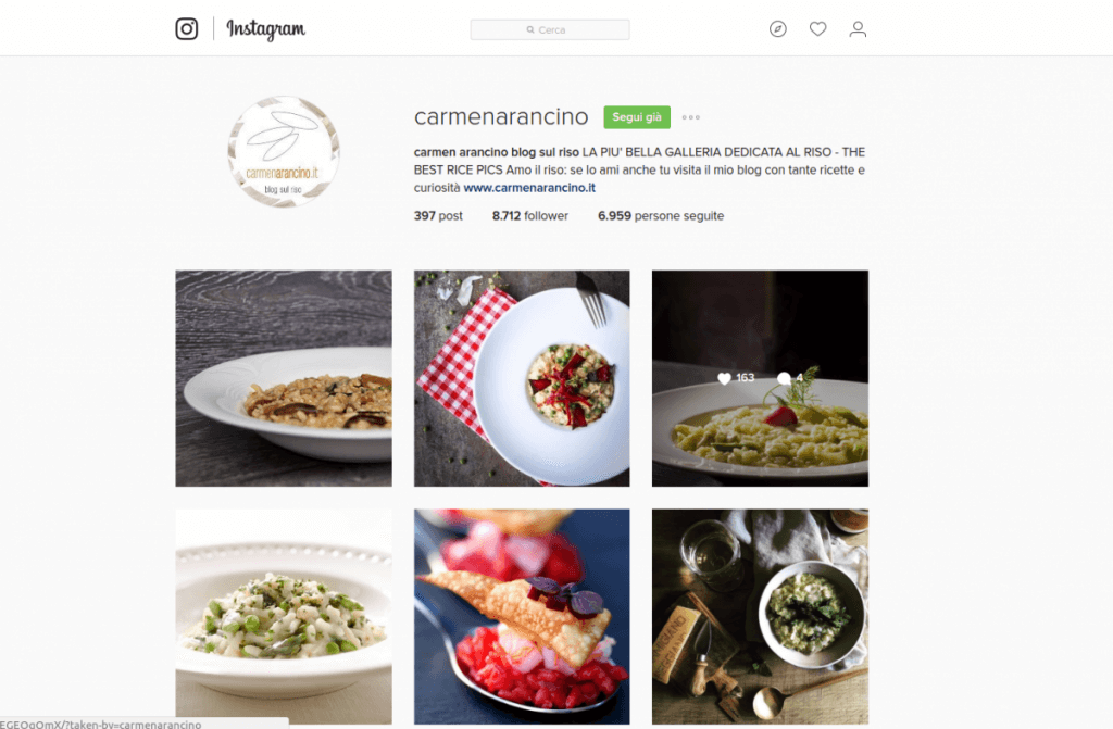 carmenarancino.it instagram - francescodattolo.it